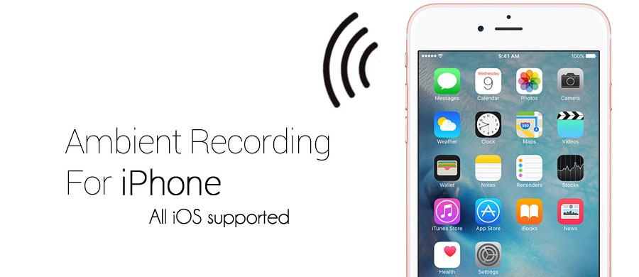 ambient recording for iPhone