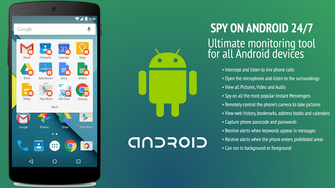 How these Free Spy Apps for Android without Target Phone work?