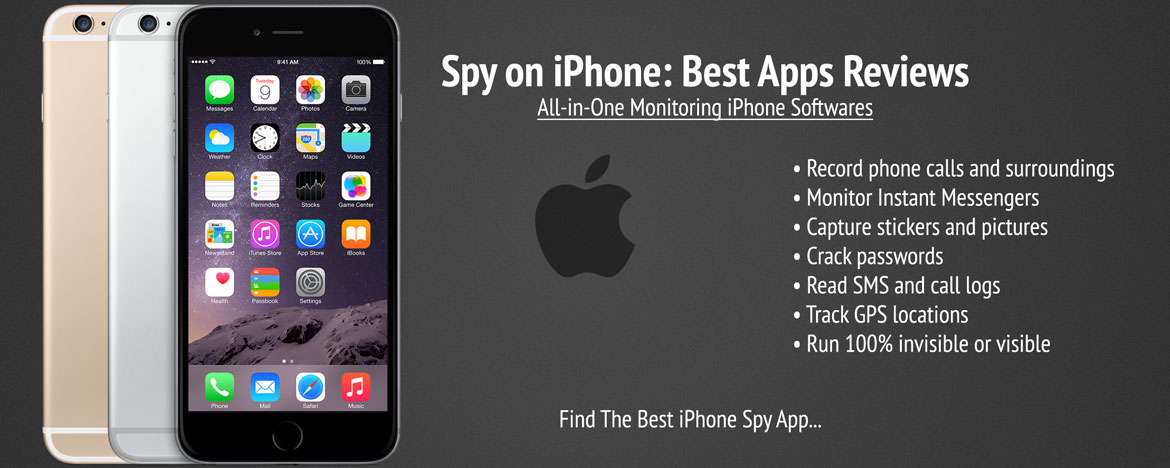 iPhone Spy App | iPhone Spy Software | iPhone Monitoring App