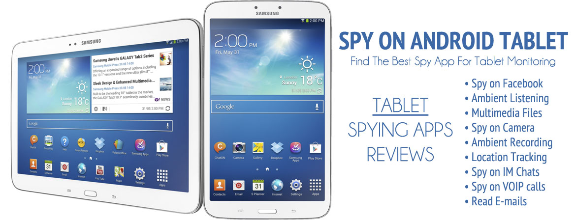 android tablet spy apps